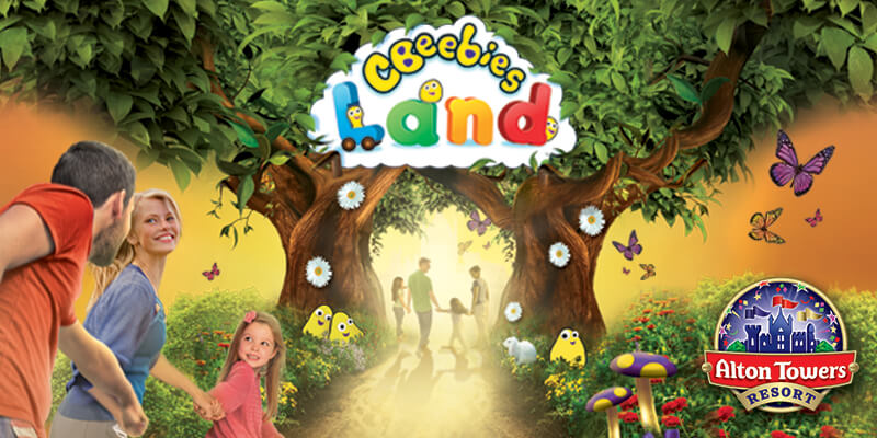 Attractions Cbeebies land